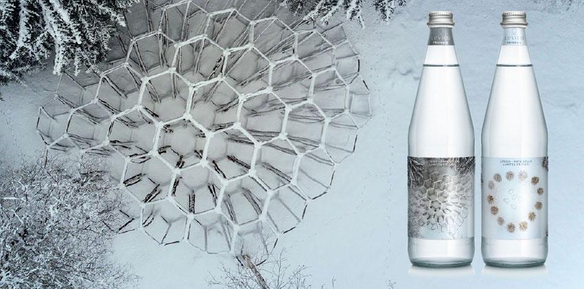 Levico acqua minerale limited edition Horeca