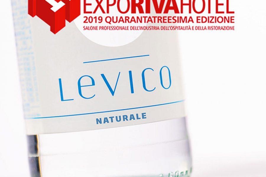 Acqua Levico partner di Confcommercio a ExpoRivaHotel