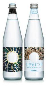Levico acqua minerale Artesella limited edition ristorazione