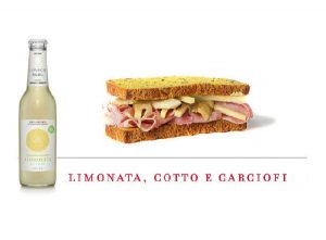 Levico beverages limonata combination ham and anchovy