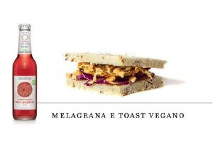 Levico beverages combination melagrana toast