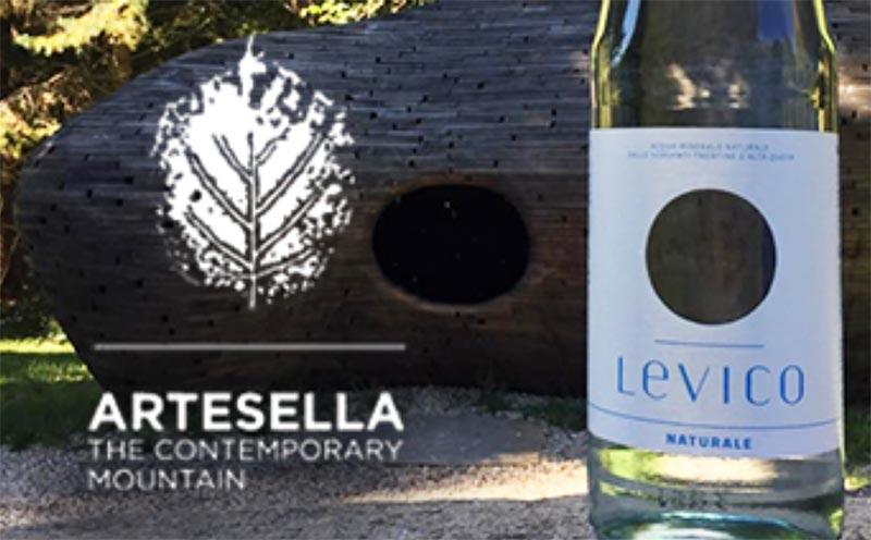 Acqua Levico per ArteSella contemporary