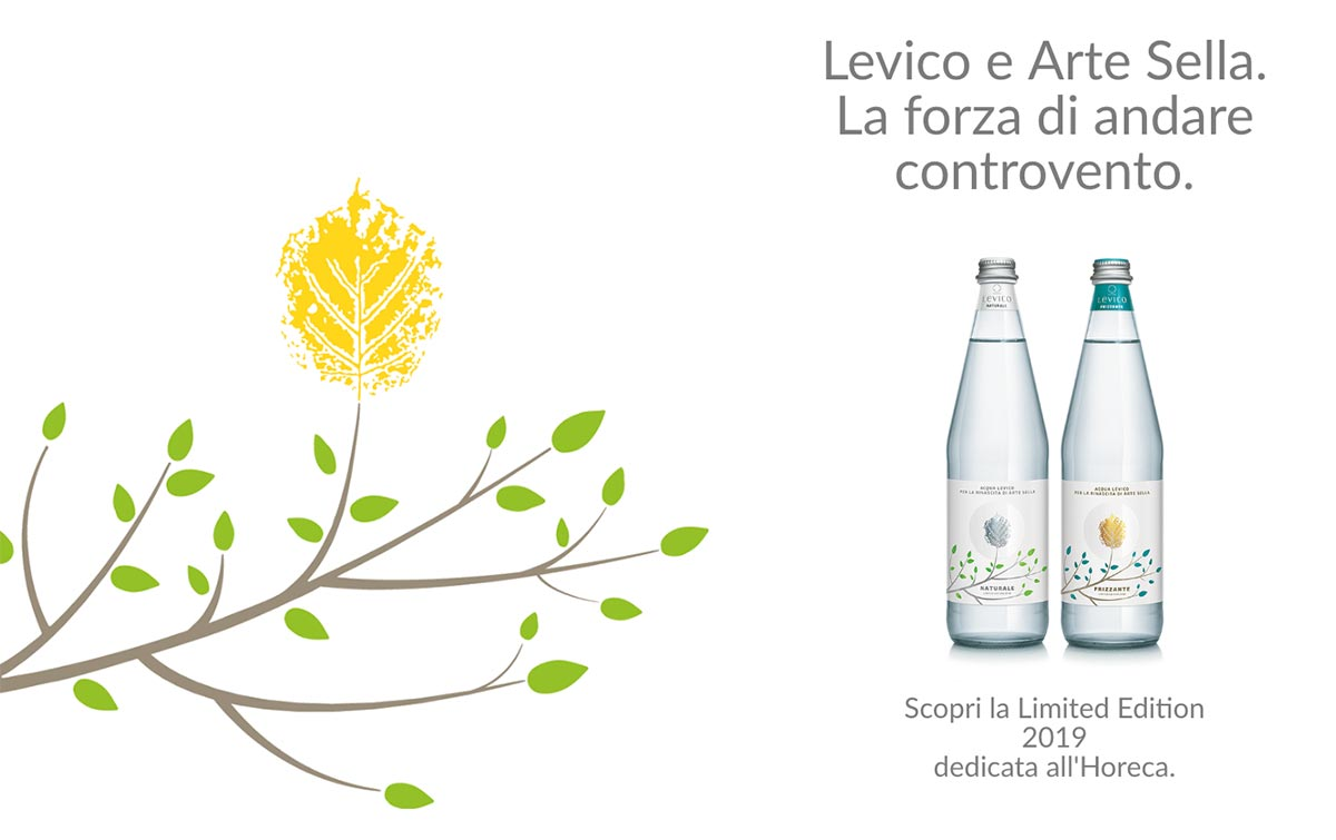 Levico acque è partner di Arte Sella