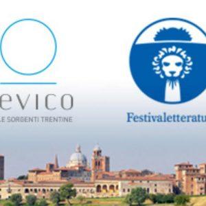 Acqua Levico protagonista al Festival della Letteratura di Mantova