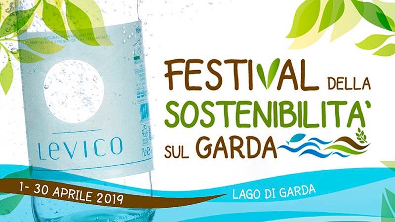 Levico Acque supporta con la sua linea horeca il Festival della Sostenibilità sul Garda 2019
