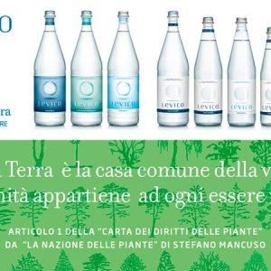 Levico è l'acqua ufficiale del Festival della Letteratura di Mantova