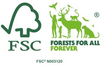 Levico Acque climate positive FSC brand
