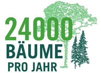 Levico Acque 24.000 BÄUME PRO JAHR
